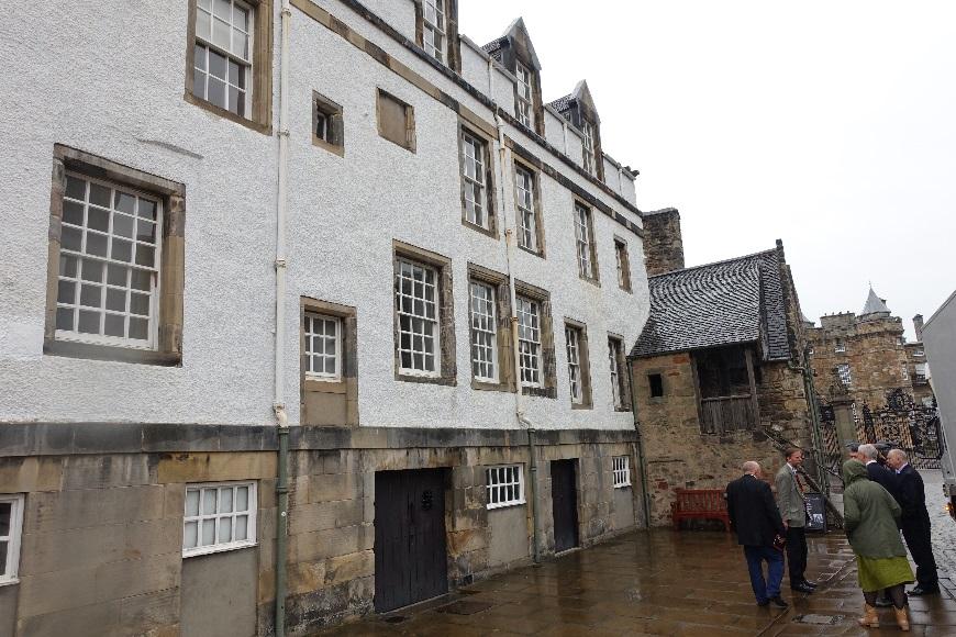 Holyrood Palace, Grassmarket Edinburgh and other news